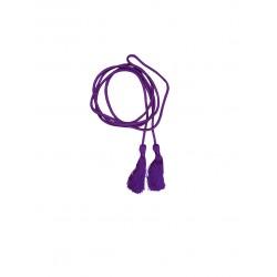 Cordon de taille violet