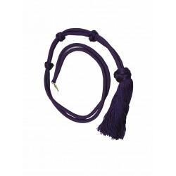 Cordon de cou violet
