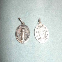 Médaille miraculeuse Q25 en aluminium A