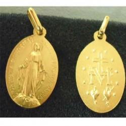 Médaille miraculeuse plaqué or